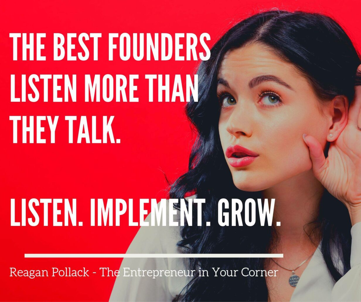 The Secret to Being a Great Founder - Reagan Pollack